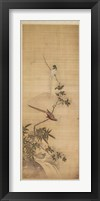 Birds on a Plum Blossom Fine Art Print