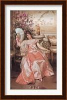 Lady with the Fan Fine Art Print