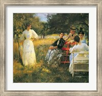 In The Orchard, 1891 Fine Art Print