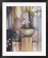 Still Life with Three Vases Fine Art Print