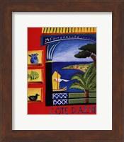 Cote D'Azur Fine Art Print
