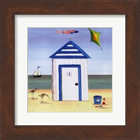 Beach House I Fine Art Print