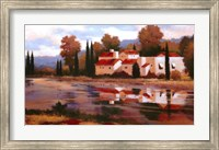 Village Reflection Fine Art Print