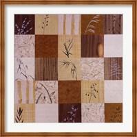 Patchwork Of Leaves II Fine Art Print