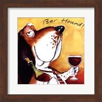Bar Hound Fine Art Print