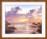 Paradise Sunset Fine Art Print