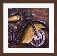 Vintage Motorcycle 2 Fine Art Print