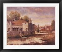 Peaceful Cottage Fine Art Print