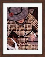 Houndstooth and Tweed II Fine Art Print