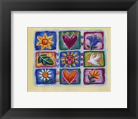 Hearts And Flowers IV Fine Art Print