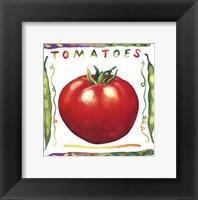 Garden Of Vegetables IV Fine Art Print
