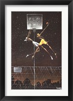 Omega Fly Dunk Fine Art Print
