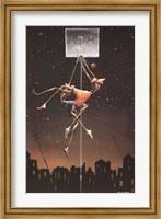 Alpha Fly Slam Fine Art Print