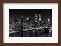 New York, New York, Brooklyn Bridge Fine Art Print