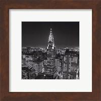 New York, New York, Chrysler Building at Night Fine Art Print