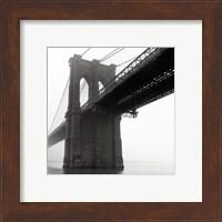 Brooklyn Bridge Fog Fine Art Print