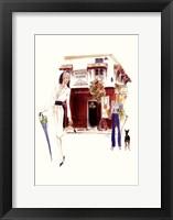 Restaurant Lechaude Fine Art Print