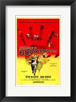 Invasion of the Body Snatchers McCarthy & Wynter Wall Poster