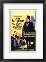 Dr Jekyll and Mr Hyde by Barrymore Wall Poster