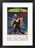 Forbidden Planet - style A Fine Art Print