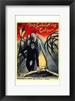 The Cabinet of Dr Caligari Wall Poster