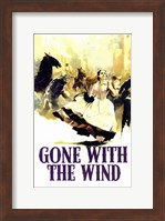 Gone with the Wind - Running Fine Art Print