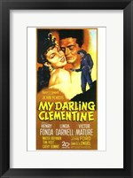 My Darling Clementine - tall Wall Poster