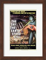 The Day the Earth Stood Still From Outer Space Fine Art Print