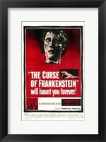 Curse of Frankenstein Wall Poster