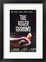 The Killer Shrews Wall Poster