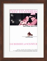 Bonnie and Clyde Beatty Dunaway Wall Poster