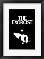 The Exorcist Silhouette Wall Poster