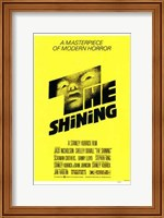 The Shining - yellow Fine Art Print