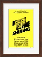 The Shining - yellow Fine Art Print