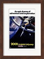 2001: a Space Odyssey An Epic Drama Wall Poster