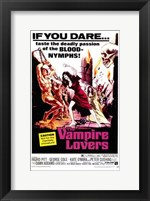 The Vampire Lovers, c.1970 Wall Poster