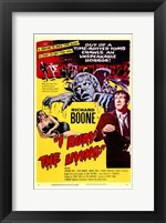I Bury the Living Wall Poster