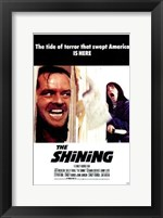The Shining - the tide of terror that swept America is here Fine Art Print