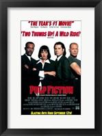 Pulp Fiction B&W Cast Fine Art Print