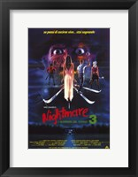 Nightmare on Elm Street 3: Dream Warrior Italian Wall Poster