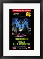 Teenage Mutant Ninja Turtles: the Movie Wall Poster