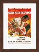 Gone with the Wind movie poster Fine Art Print