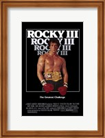 Rocky 3 Sylvester Stallone Fine Art Print
