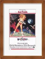 Barbarella On the Moon Wall Poster