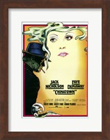 Chinatown Art Deco Wall Poster