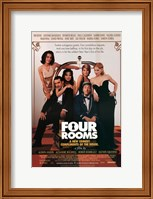 Four Rooms Wall Poster