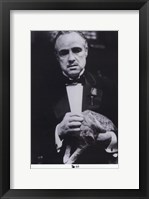 The Godfather the Don Fine Art Print