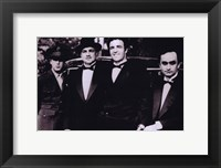 The Godfather Men in Suits Fine Art Print