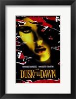 From Dusk Till Dawn Salma Hayek Wall Poster