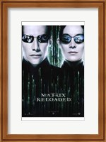 The Matrix Reloaded Neo and Trinity Wall Poster